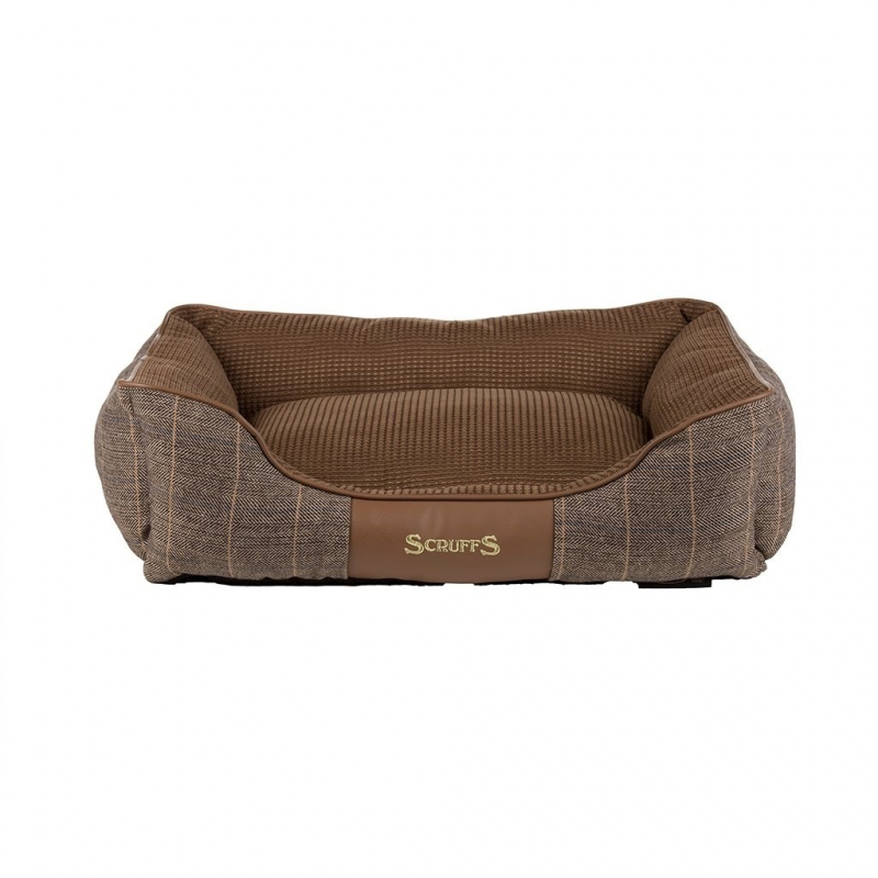 Scruffs Windsor Box Dog Bed  Marrón M