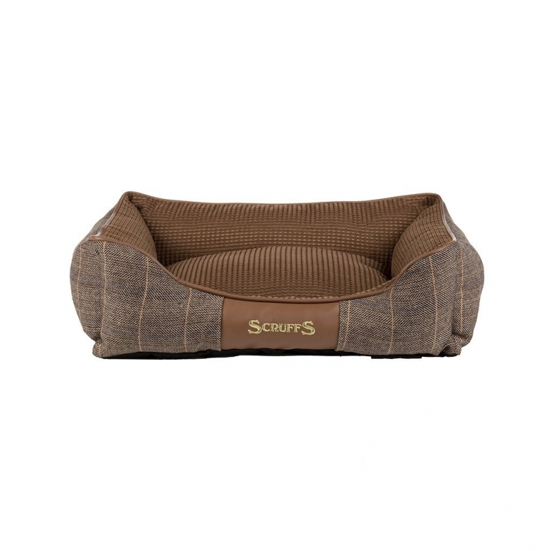 Scruffs Windsor Box Dog Bed  Marrón S