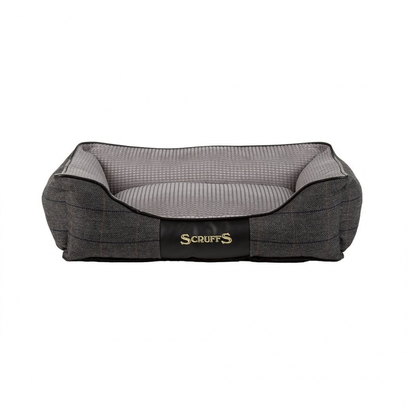 Scruffs Windsor Box Dog Bed  Gris S