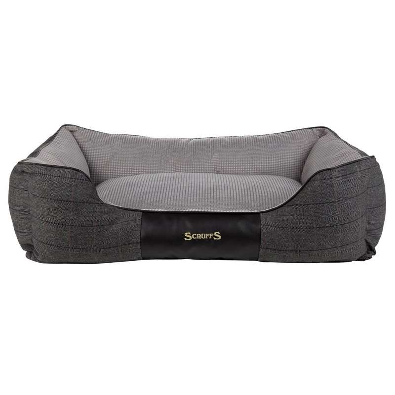 Scruffs Windsor Box Dog Bed  Gris XL