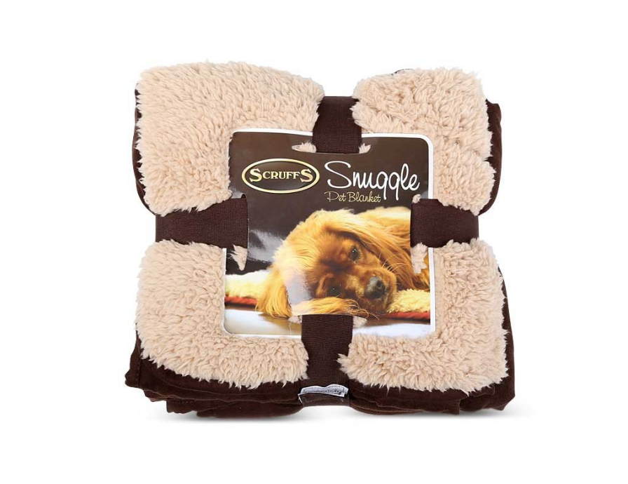 Scruffs Snuggle Blanket  Dark brown 110x75 cm order cheap