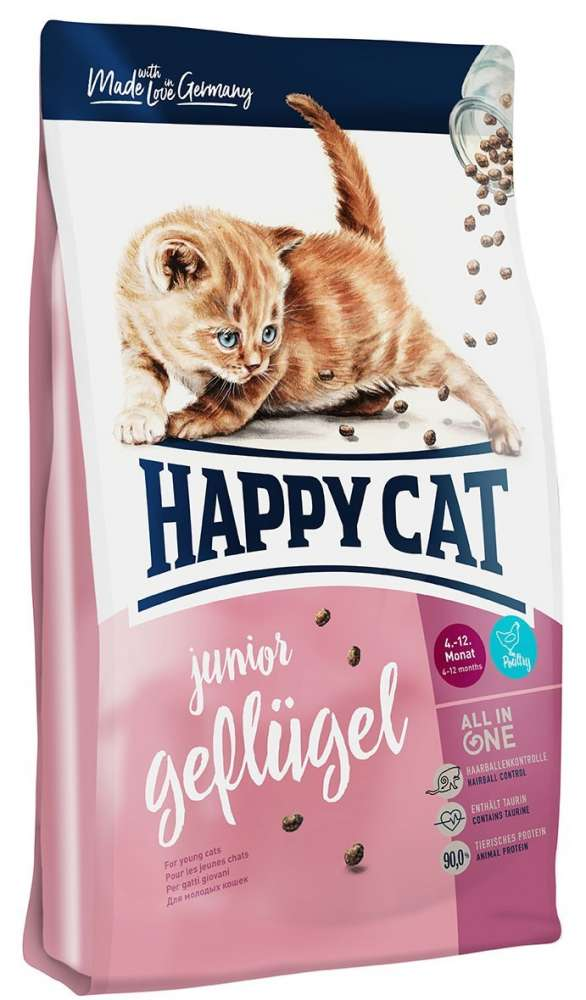 Happy Cat Supreme Junior Poultry 4 kg, 300 g, 10 kg, 1.4 kg