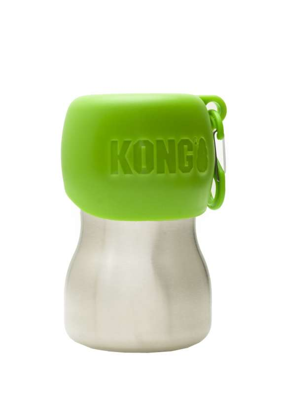 KONG H2O Stainless Steel Water Bottle  Neon green 280 ml order cheap