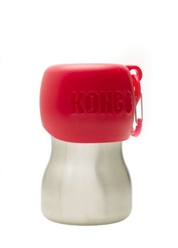 KONG H2O Stainless Steel Water Bottle  Red 280 ml order cheap