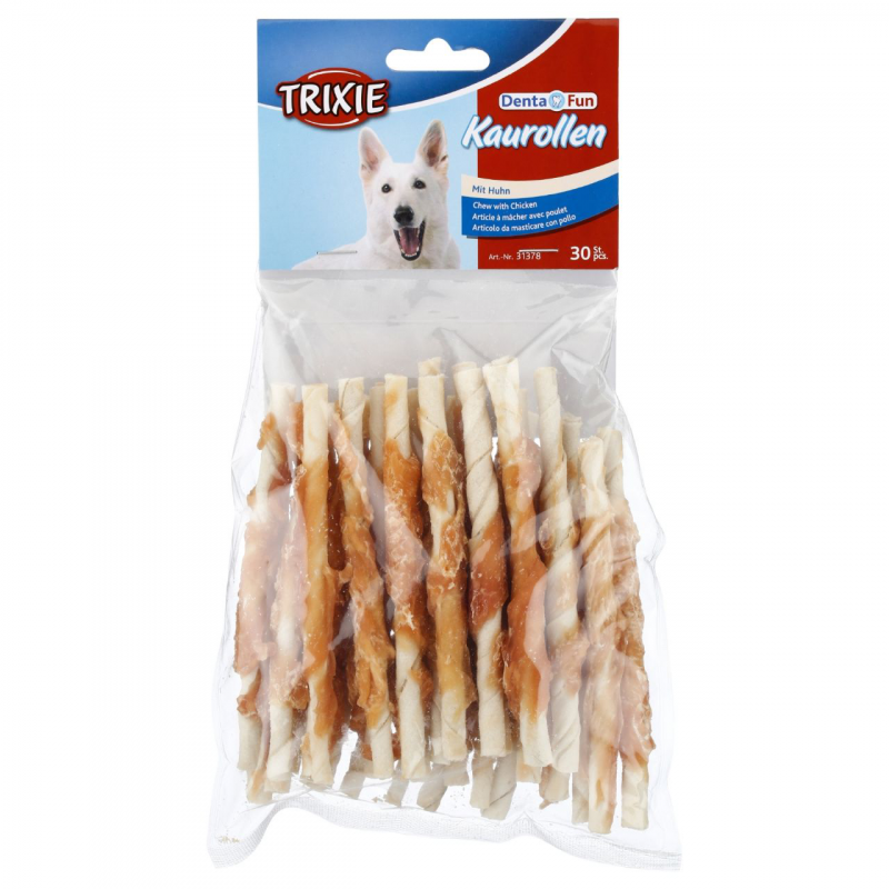 Trixie Denta Fun Kauwbare Sticks van Kip 240 g 4011905313719