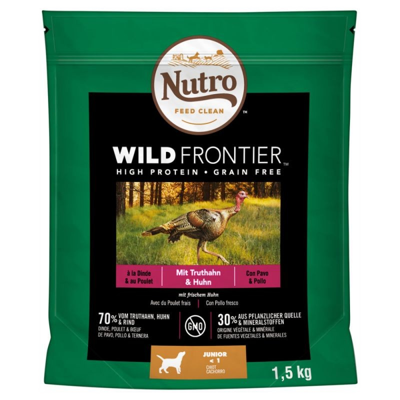 Nutro Wild Frontier Junior Turkey & Chicken 1.5 kg
