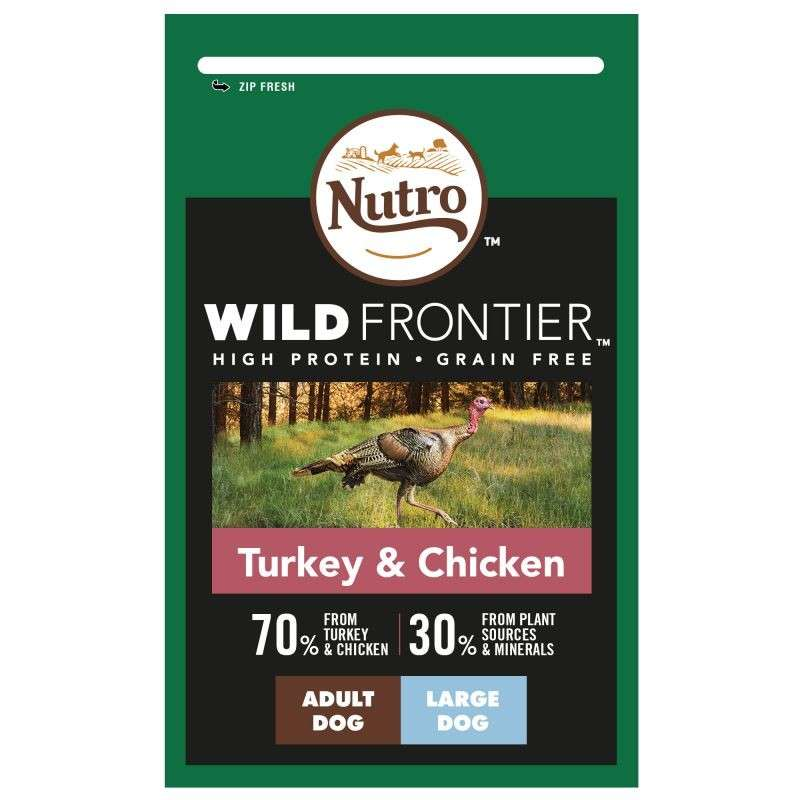 Nutro Wild Frontier Adult Large Breed Turkey & Chicken 4008429110085 erfarenheter
