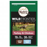 Wild Frontier Adult Large Breed Peru & Frango 10 kg