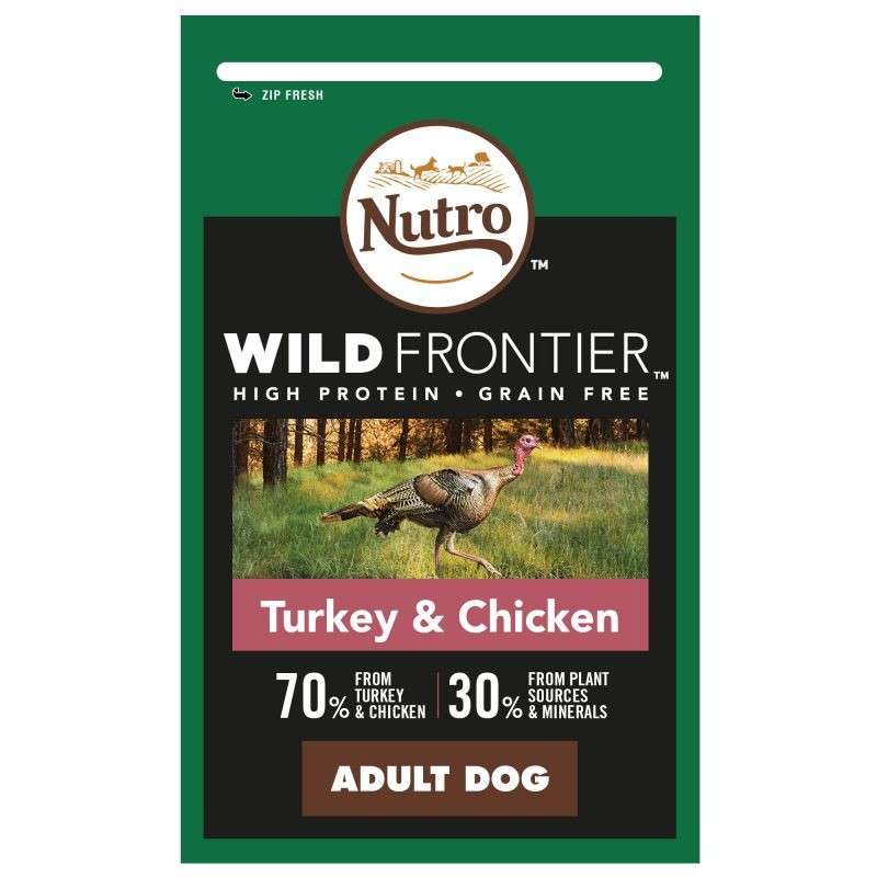 Nutro Wild Frontier Adult Turkey & Chicken 4008429109935 opinião