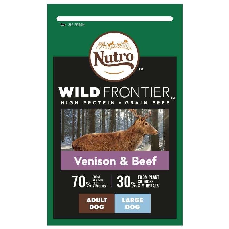 Nutro Wild Frontier Adult Large Breed Cervo e Manzo 4008429110085 opinioni