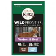 Wild Frontier Adult Large Breed Hirsch & Rind - EAN: 4008429110092
