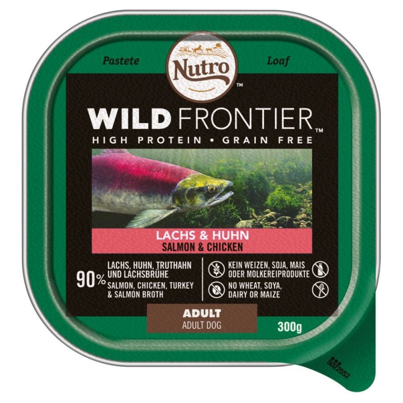 Nutro Wild Frontier Adult Salmon & Chicken 300 g