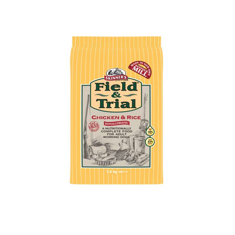 Skinner's Field & Trial Chicken & Rice 2.5 kg