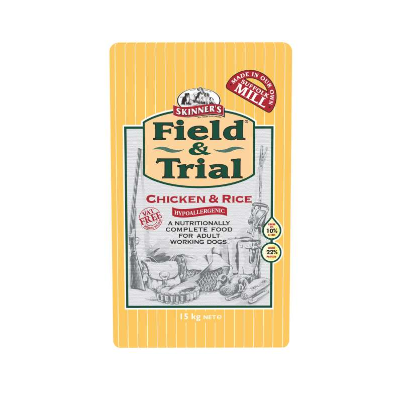 Skinner's Field & Trial Chicken & Rice 15 kg order cheap