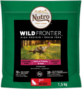 Nutro Wild Frontier Adult Turkey & Chicken 4 kg