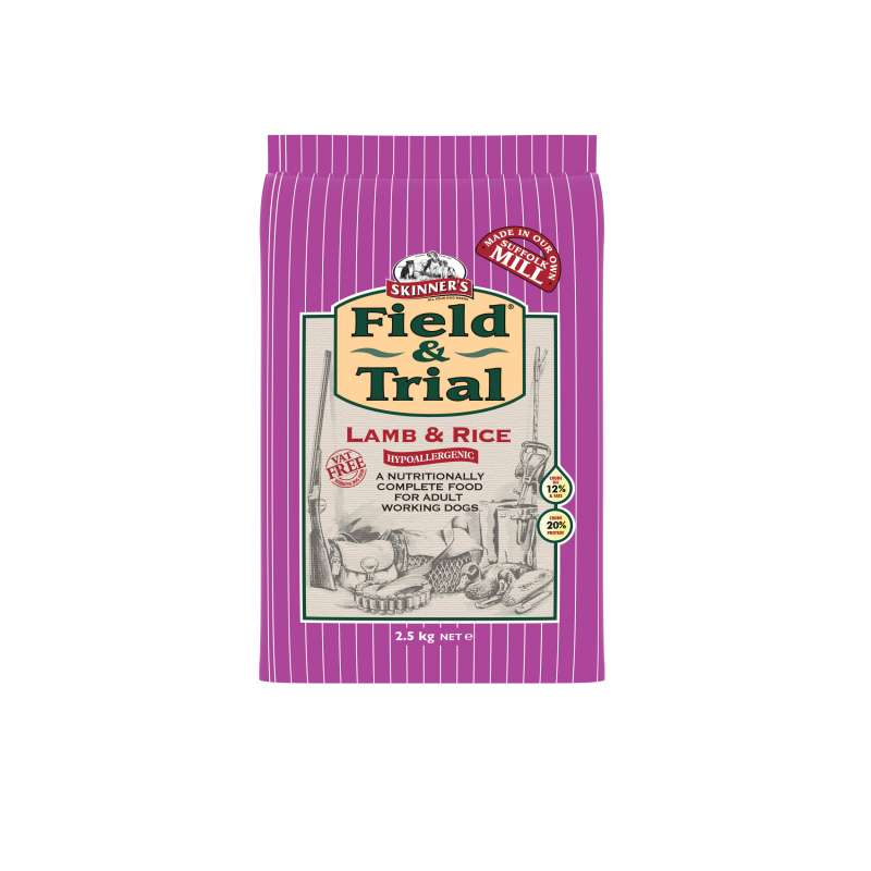 Skinner's Field & Trial Lamb & Rice EAN: 5021815000431 reviews
