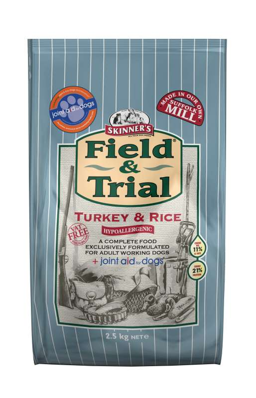 Skinner's Field & Trial Turkey & Rice 2.5 kg