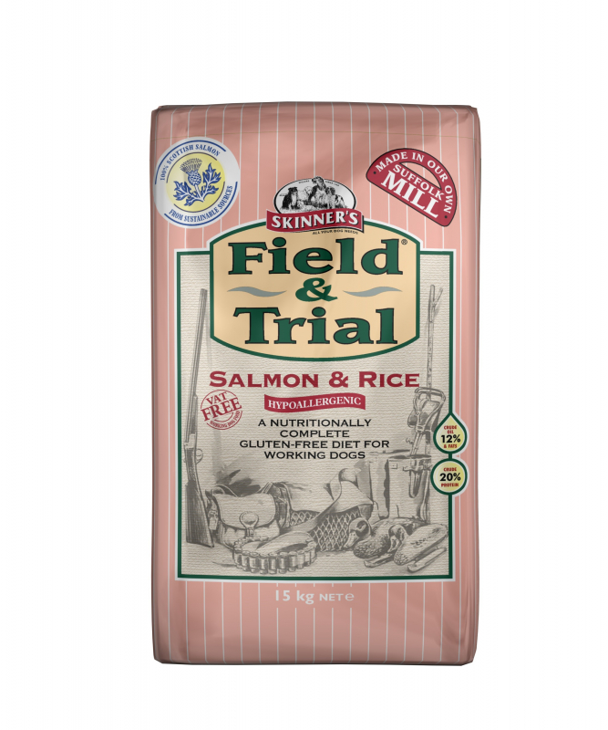 Skinner's Field & Trial Salmon & Rice 2.5 kg, 15 kg