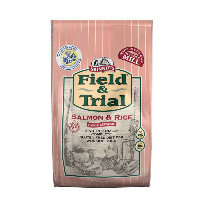Skinner's Field & Trial Salmon & Rice 2.5 kg