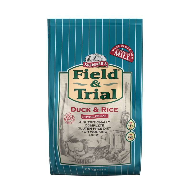 Skinner's Field & Trial Duck & Rice 2.5 kg 5021815000356