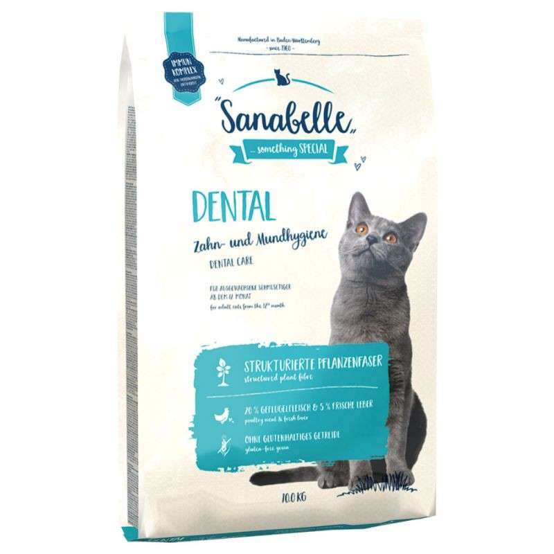Sanabelle Dental 400 g, 2 kg, 10 kg test