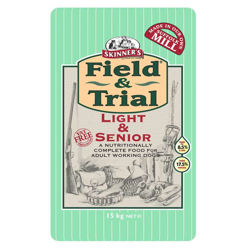 Skinner's Field & Trial Light & Senior 15 kg 5021815000349 avis