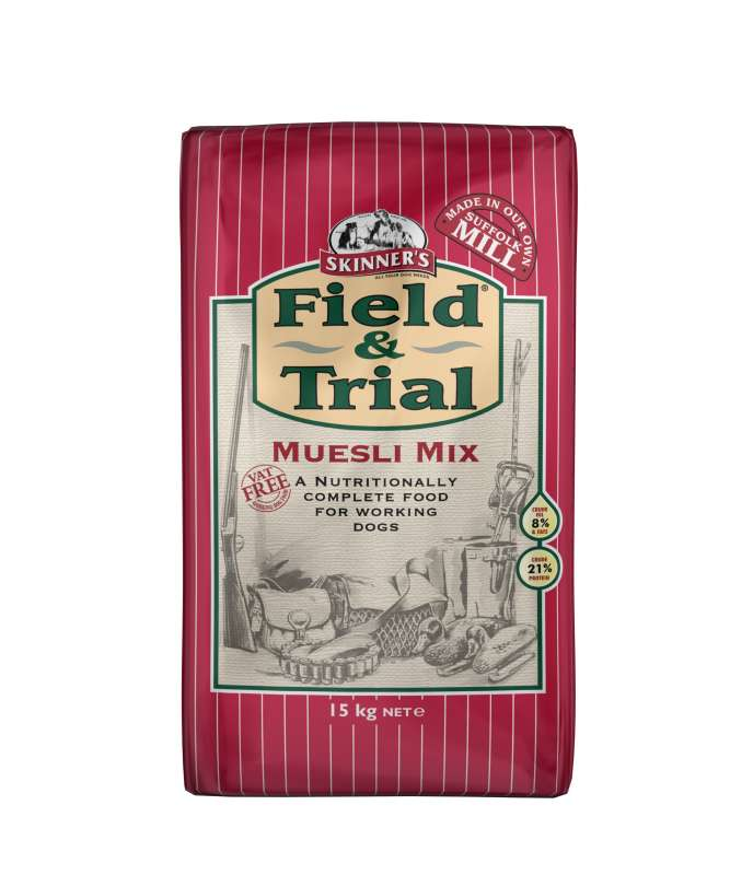 Skinner's Field & Trial Muesli Mix 2.5 kg, 15 kg bei Zoobio.at
