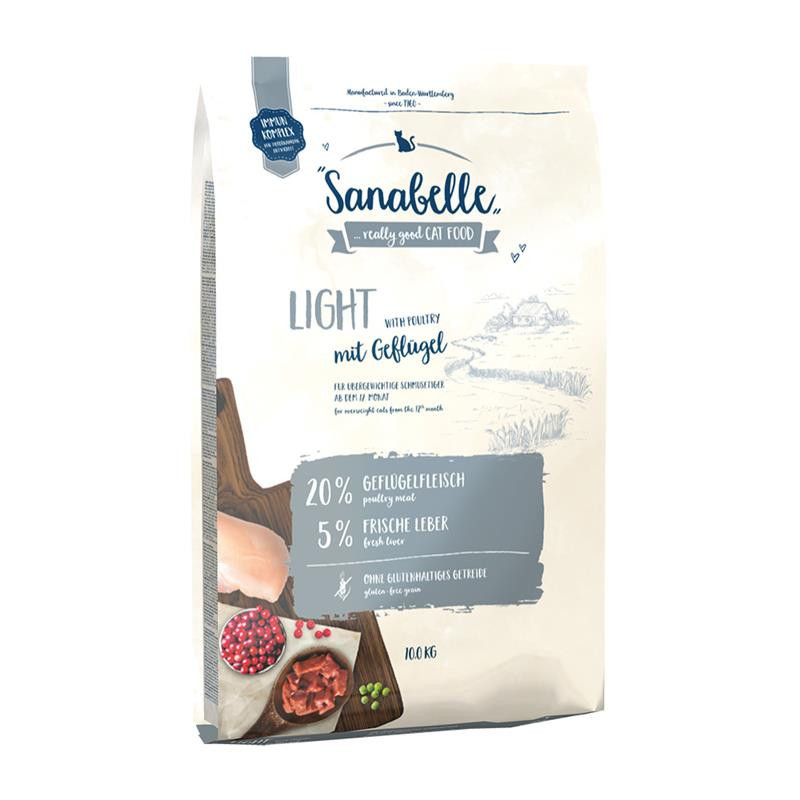 Sanabelle Light 400 g, 2 kg, 10 kg test