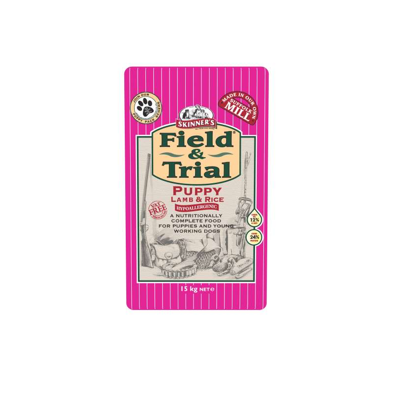 Skinner's Field & Trial Puppy Lamb & Rice 15 kg