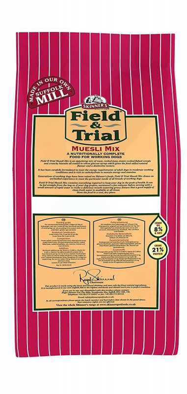 Skinner's Field & Trial Muesli Mix 2.5 kg, 15 kg