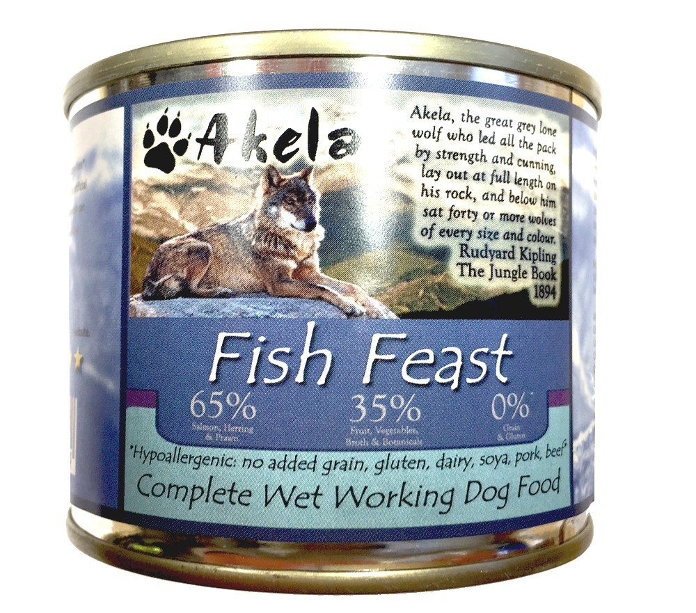 Akela Fish Feast 190 g order cheap
