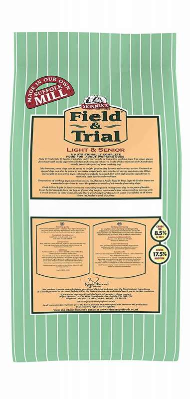Skinner's Field & Trial Light & Senior 2.5 kg, 15 kg