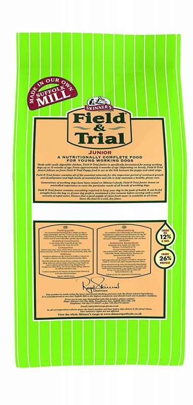 Skinner's Field & Trial Junior 2.5 kg, 15 kg Test und Raiting