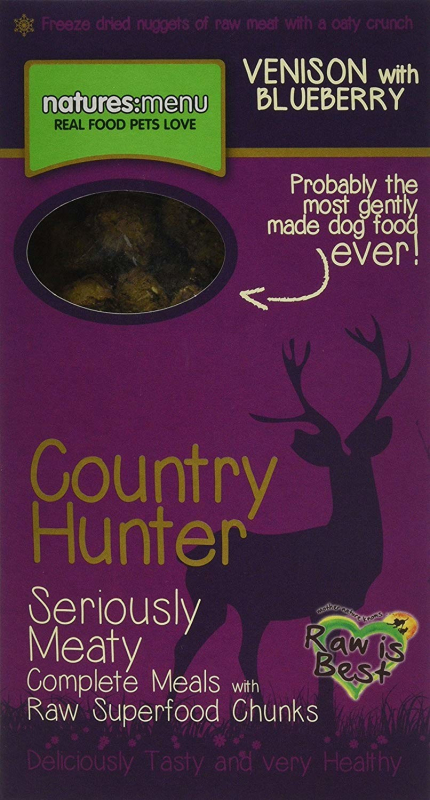 Natures Menu Country Hunter Veado com Mirtilo Superfood Crunch 700 g