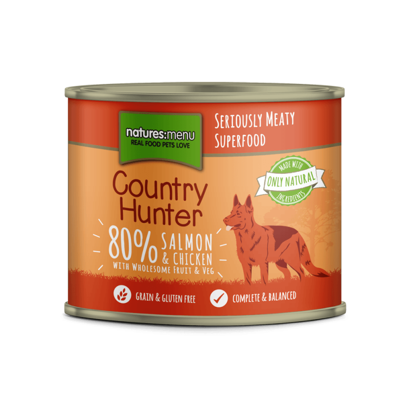 Natures Menu Country Hunter Salmón con Pollo 600 g 5027530003658 opiniones