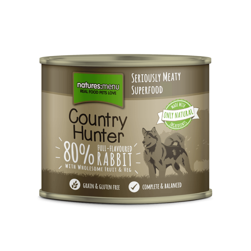 Natures Menu Country Hunter Conejo 600 g