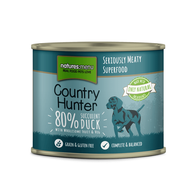 Natures Menu Country Hunter Saftige Ente 600 g