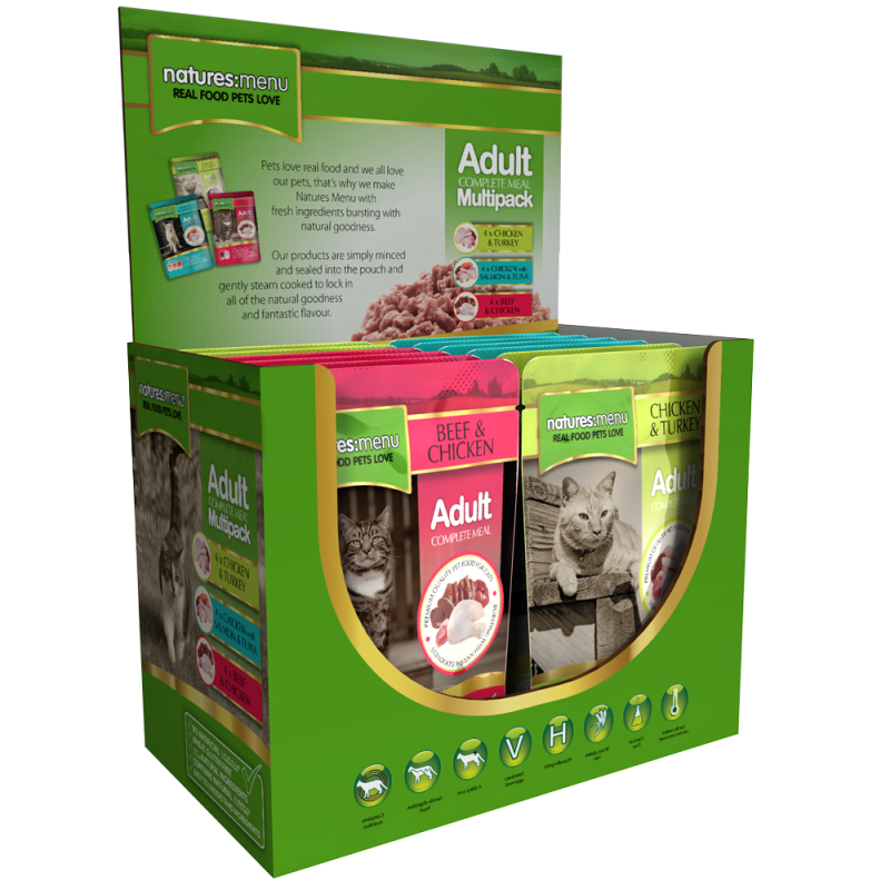 Natures Menu Adult Multipack 5025730001726 opinião