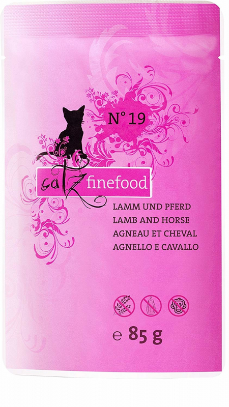 Catz Finefood No.19 Lamb & Horse 85 g order cheap