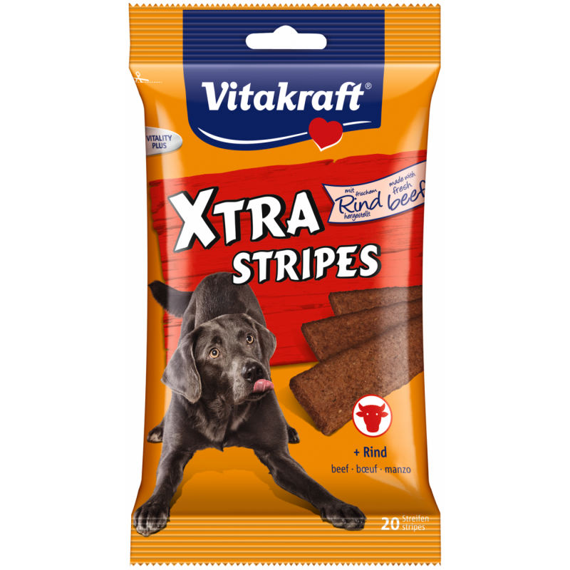 Vitakraft Xtra Stripes + Carne de Res 200 g 4008239288998 opiniones