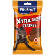 Vitakraft Xtra Stripes + Carne de Res 200 g