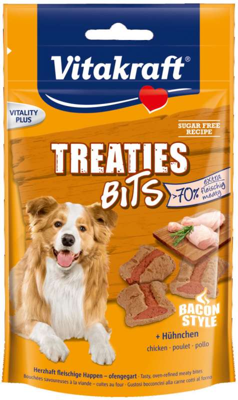 Vitakraft Treaties Bits + Pollo Bacon Style 120 g 4008239367211 opiniones