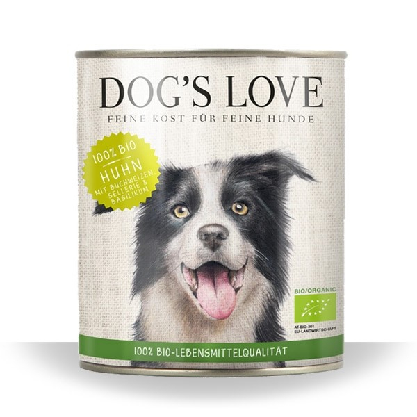 Dog's Love Organic Chicken 200 g