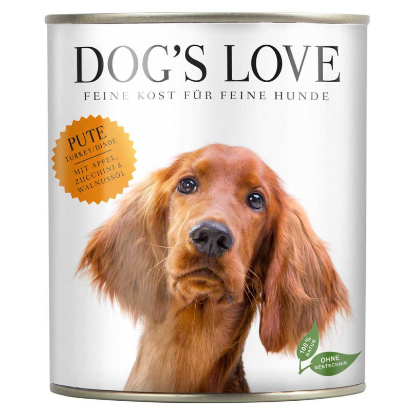 Dog's Love Classic Pavo 200 g 9120063680122 opiniones