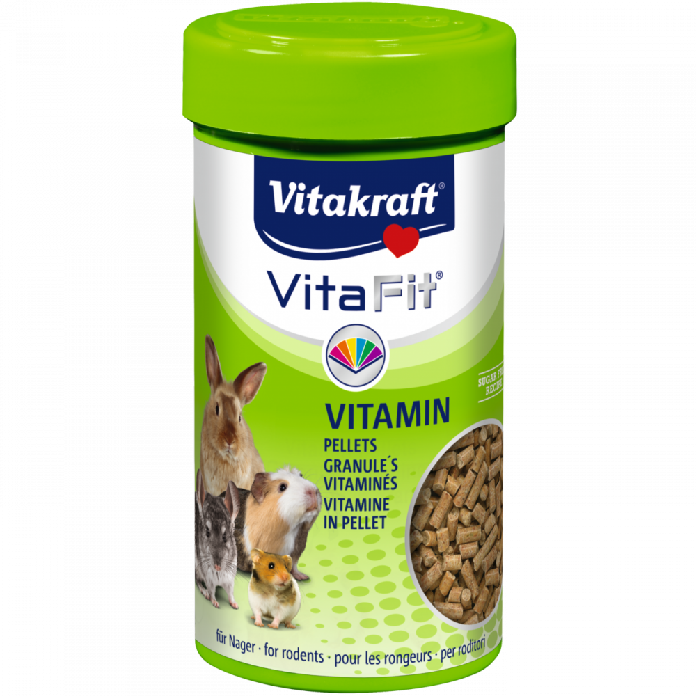 Vitakraft Vita Fit Vitamin Pellets 80 g