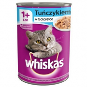 Whiskas 1+ with Tuna in Jelly - EAN: 5900951017575