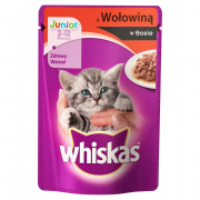 Whiskas Junior with Beef in Sauce 100 g