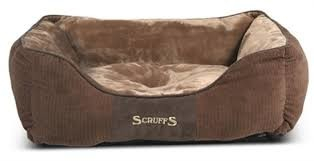 Scruffs Chester Box Lit  Marron foncé M