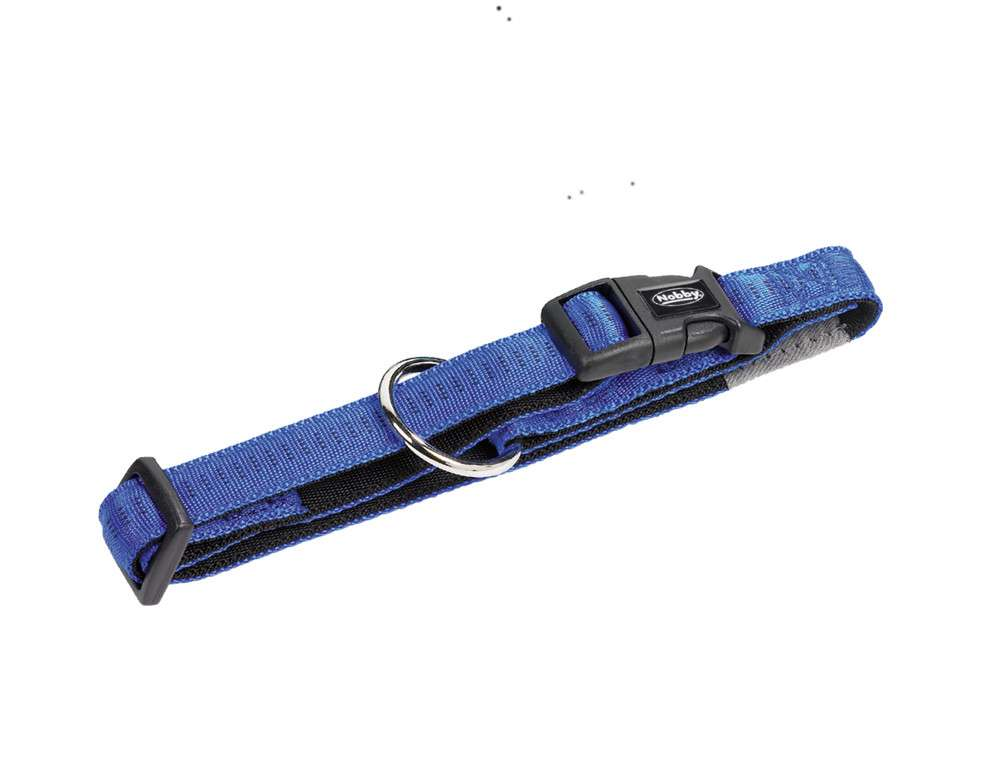Nobby Collar Soft Grip  Azul XS-S