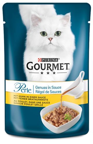 Purina Gourmet Perle Gravy Delight with Chicken 85 g
